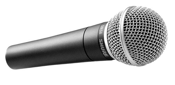 Microfone Mão Shure SM 58 LC