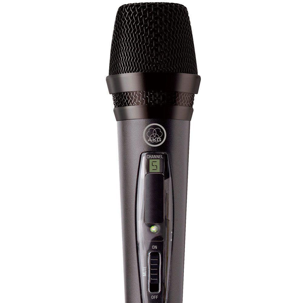 Microfone Sem Fio AKG Wireless Pw45 Vset - Preto
