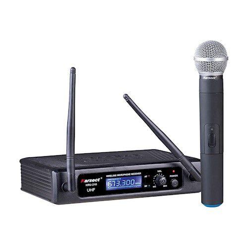 Microfone sem Fio de Mão Karsect KRU 210