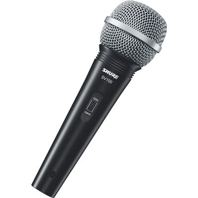 Microfone Shure Sv100 Com Cabo