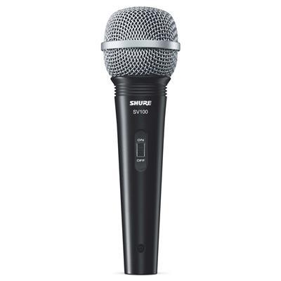 Microfone Shure Com Fio Sv100