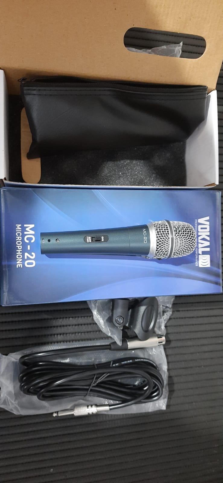 Microfone Vokal Mc20 C/ Fio