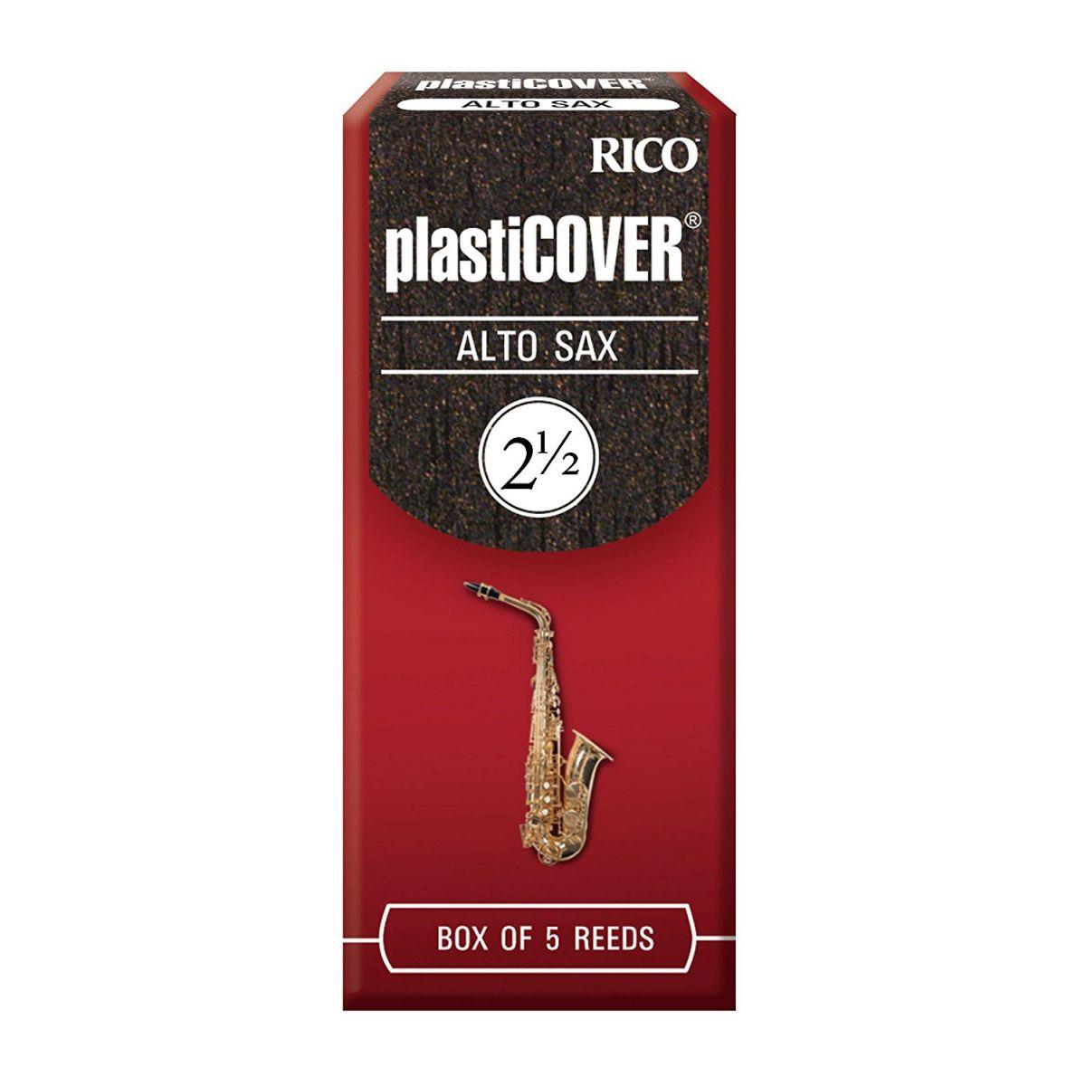 PALHETA PARA SAX ALTO PLASTICOVER RICO 2 1/2