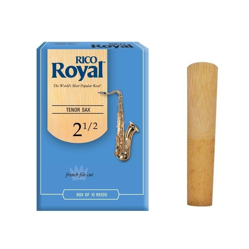 PALHETA SAX TENOR RICO ROYAL 2 ½ - MADE IN FRANCE