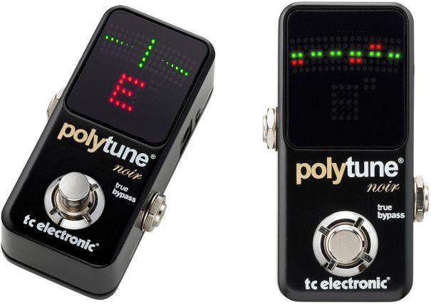 Pedal Afinador Polytune 2 Noir TC Eletronic