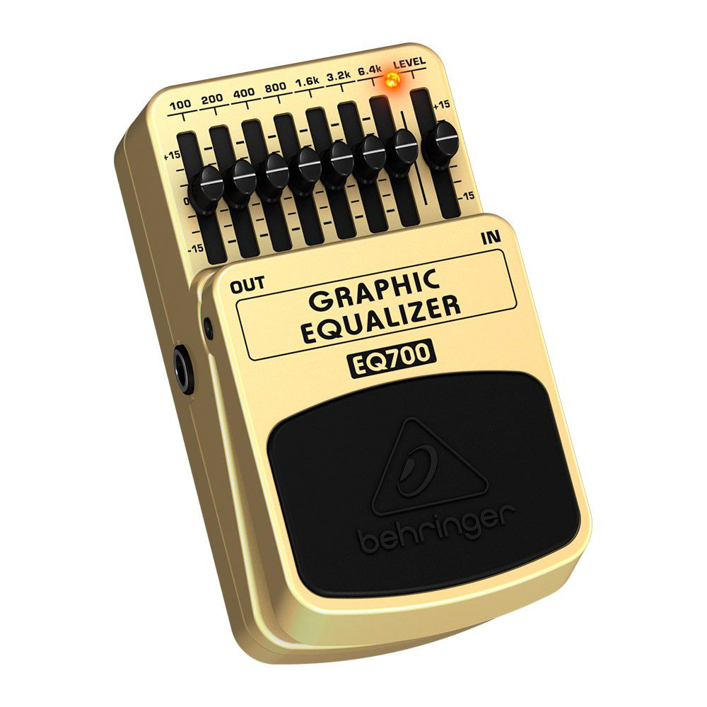 Pedal Behringer Graphic Equalizer Eq700