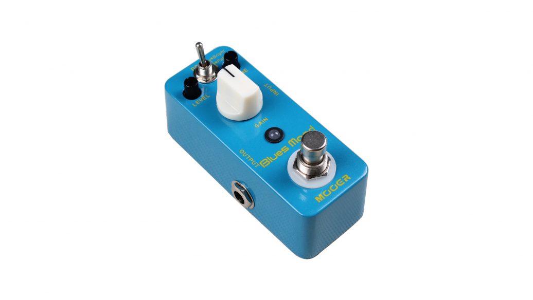 Pedal Blues Mood de overdrive  Mooer para guitarra.