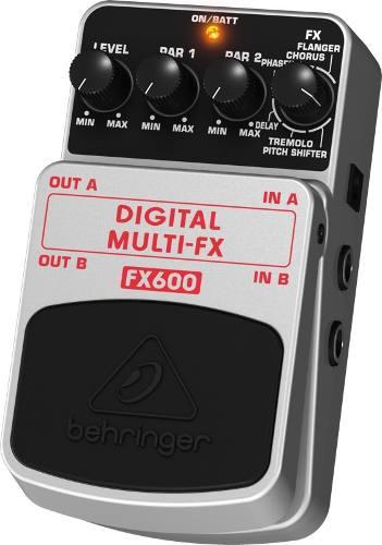 Pedal de Efeito Behringer Digital Multi Efeitos FX600