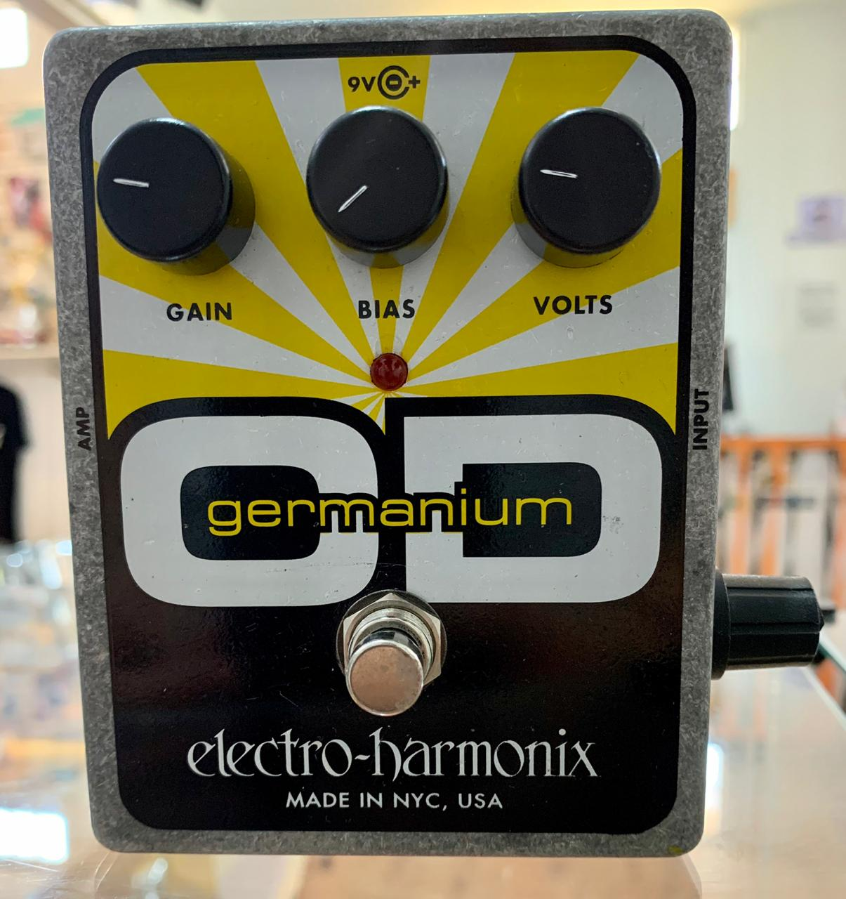 PEDAL ELECTRO-HARMONIX GERMANIUM OD (Semi-Novo)