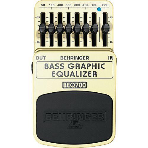 Pedal Equalizador Digital Behringer Beq700
