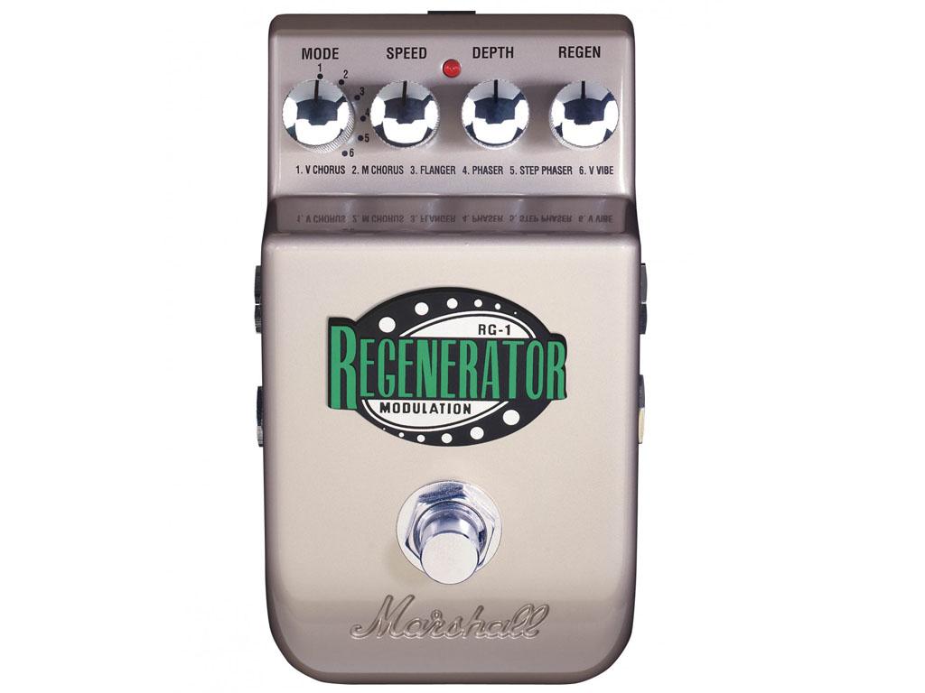 Pedal Marshall Multi Efeitos Rg-1 Regenerator