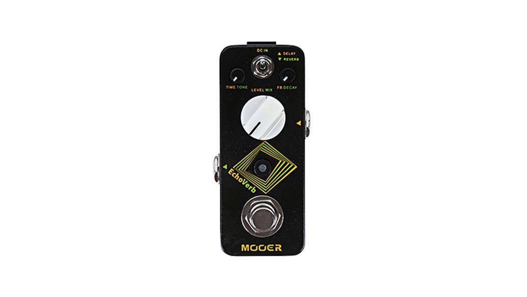 Pedal Mooer Echoverb Digital Delay E Reverb - Mdv1