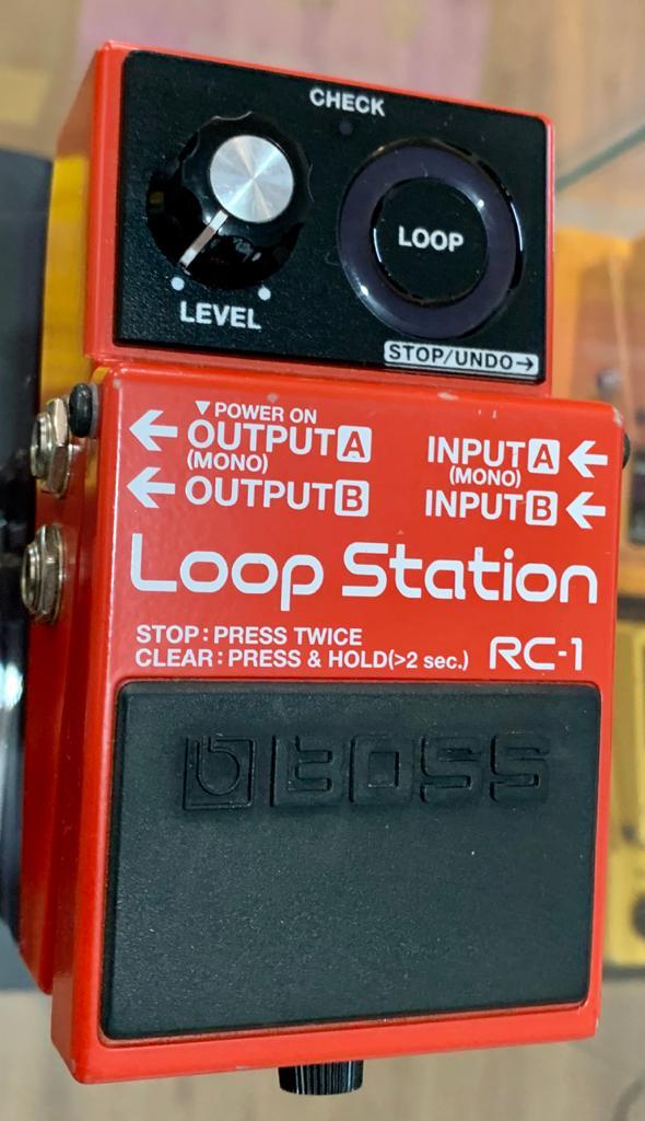 Pedal Roland Boss Rc-1 Loop Station Pedal (SEMI-NOVO)