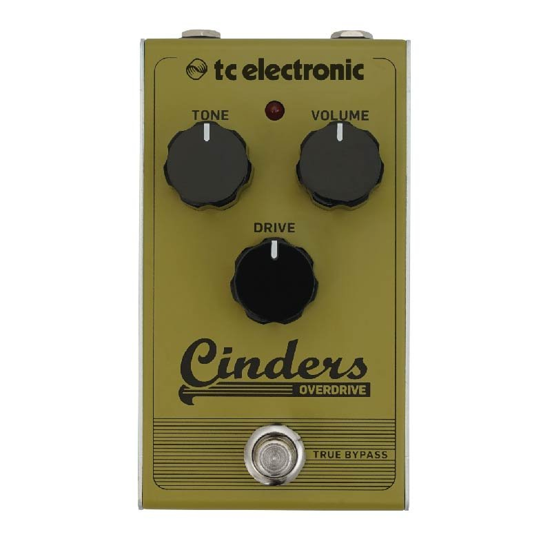 PEDAL TC ELETRONIC CINDERS OVERDRIVE