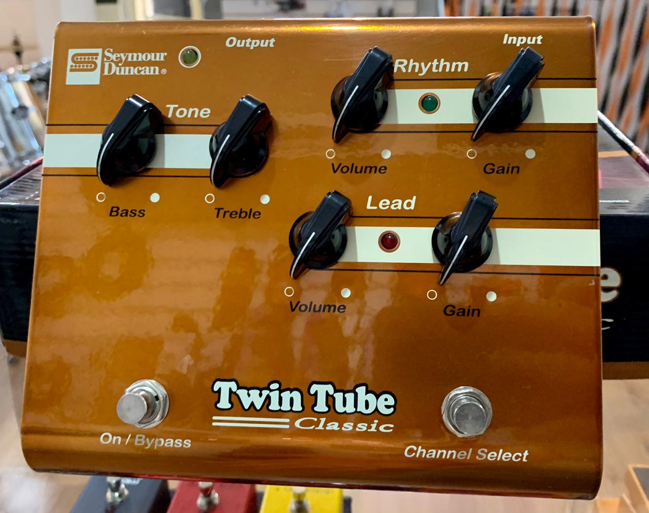 Pedal Twin Tube Classic Seymour Duncan Valvulado (Semi-Novo)