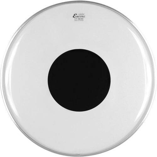 Pele Remo Encore Controlled Sound Transparente 08 En-0308-ct