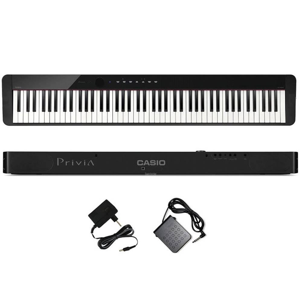 Piano Casio Privia Pxs1000 88 Teclas Digital Preto Com Fonte