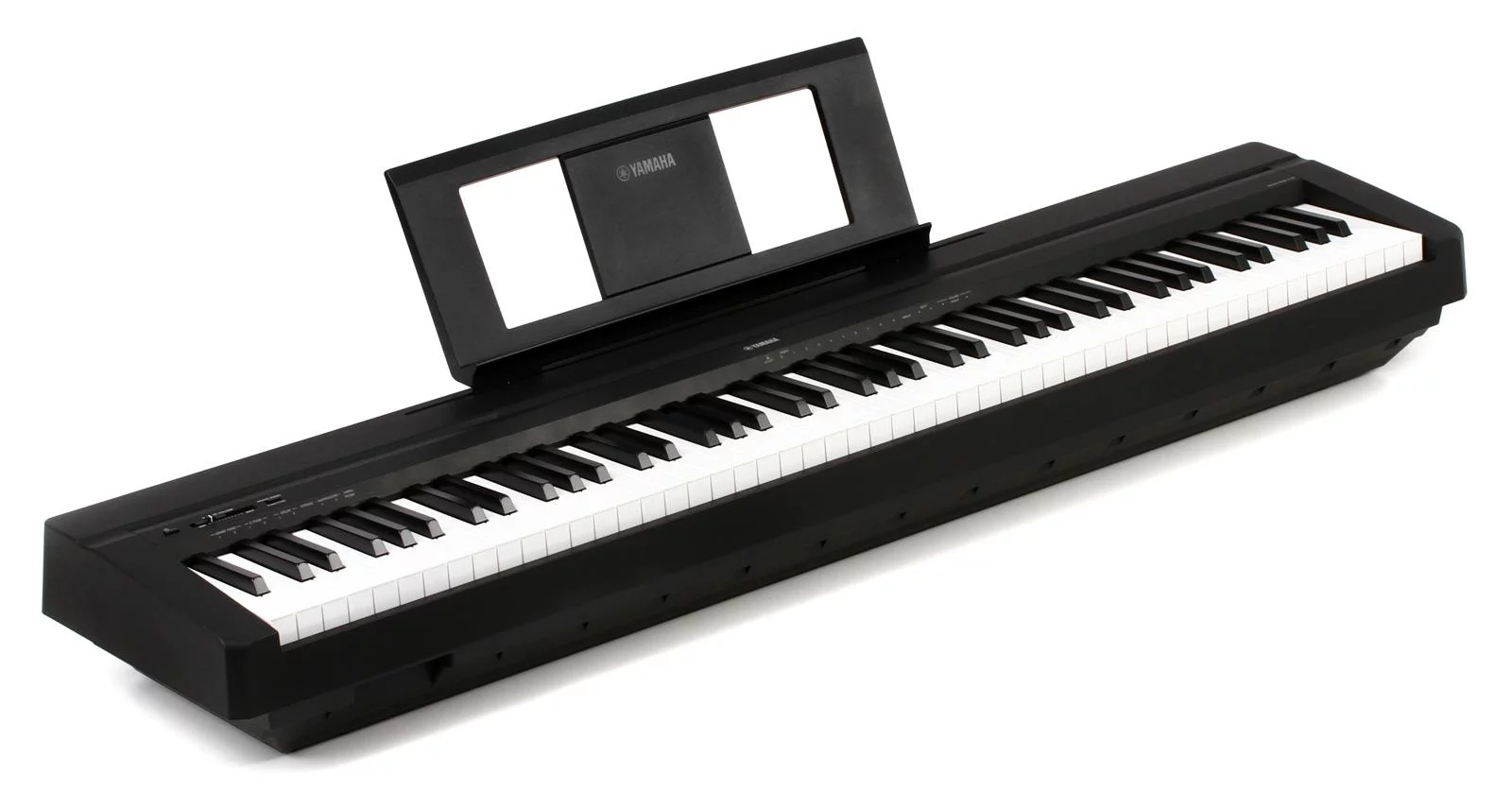 Piano Digital 88 Teclas Yamaha P45B Preto com Fonte e Pedal