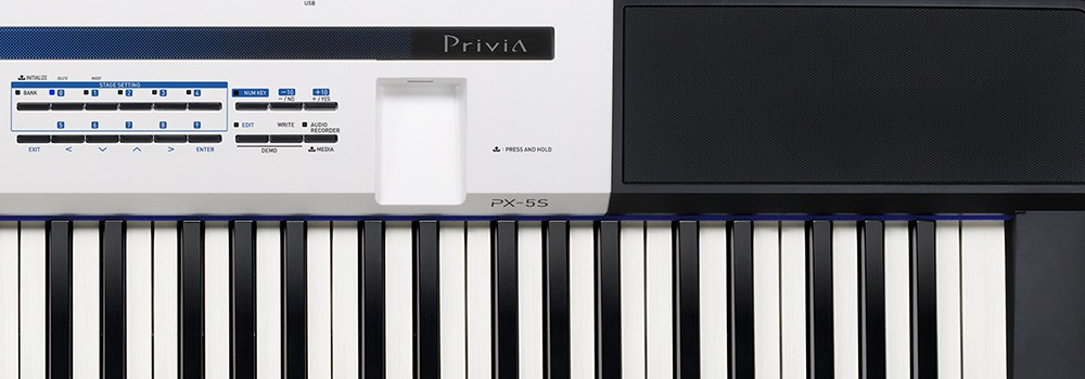 Piano Digital Casio Privia PX5S