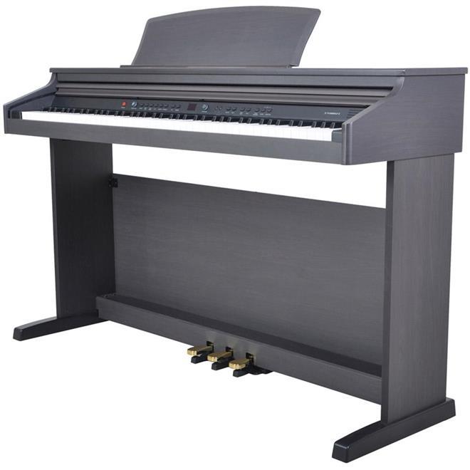 Piano Digital Fenix TG8852 88 Teclas, Preto e Teclas Sensitivas