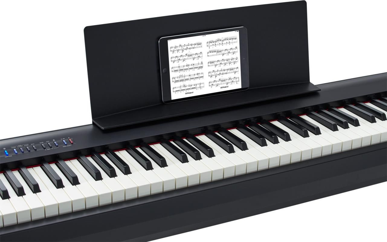 Piano Digital Roland FP-30 Preto 88 Teclas