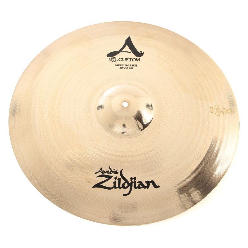 "PRATO ZILDJIAN A CUSTOM 20"" - MEDIUM RIDE"