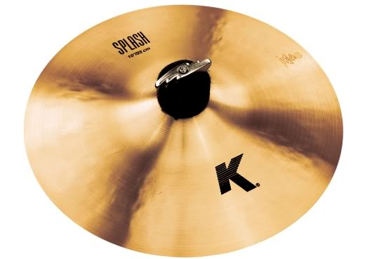 Prato Zildjian K Series 10 K0858 - Splash