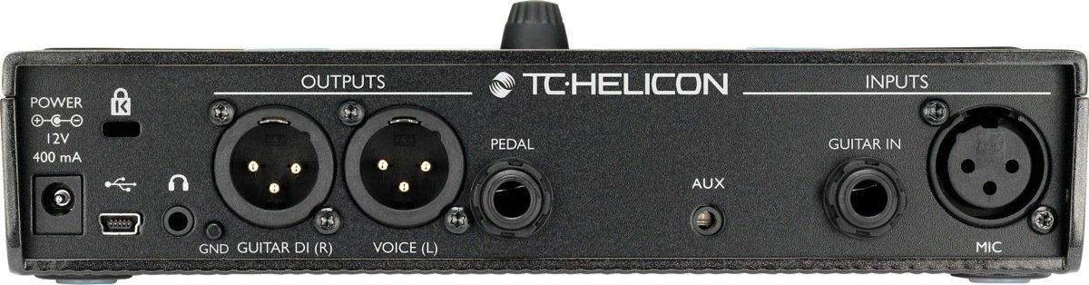 Processador de Efeitos Para VOZ e Violao Play Acoustic - TC Helicon