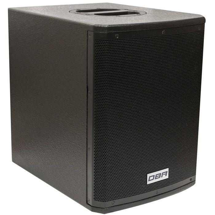 Sistema de Som Profissional DBR DVA1200 (Mostruário produto de Showroom)
