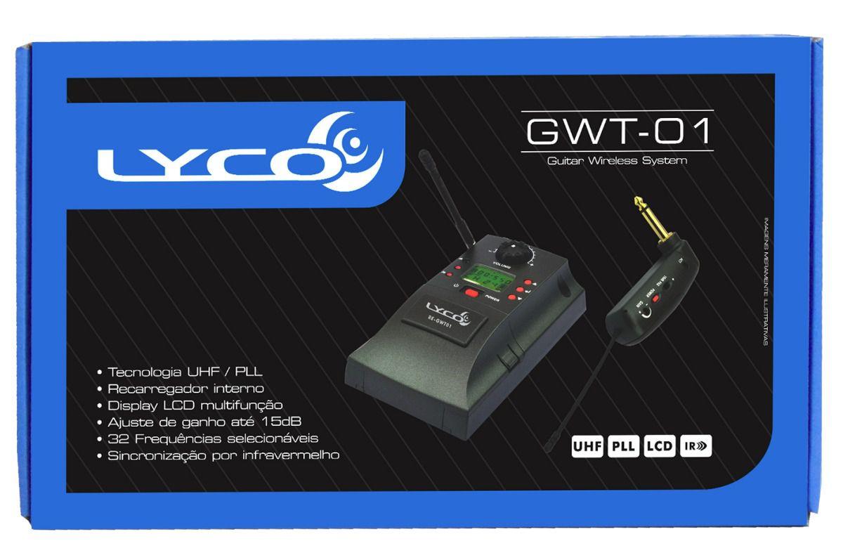 Sistema Transmissão Para Instrumentos de cordas Lyco GWT-01