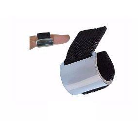 Slide Dunlop Shy No 229 Aço Cromado Ajustável Com Velcro