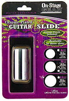 Slide On-Stage SLD209 Chrome Guitar