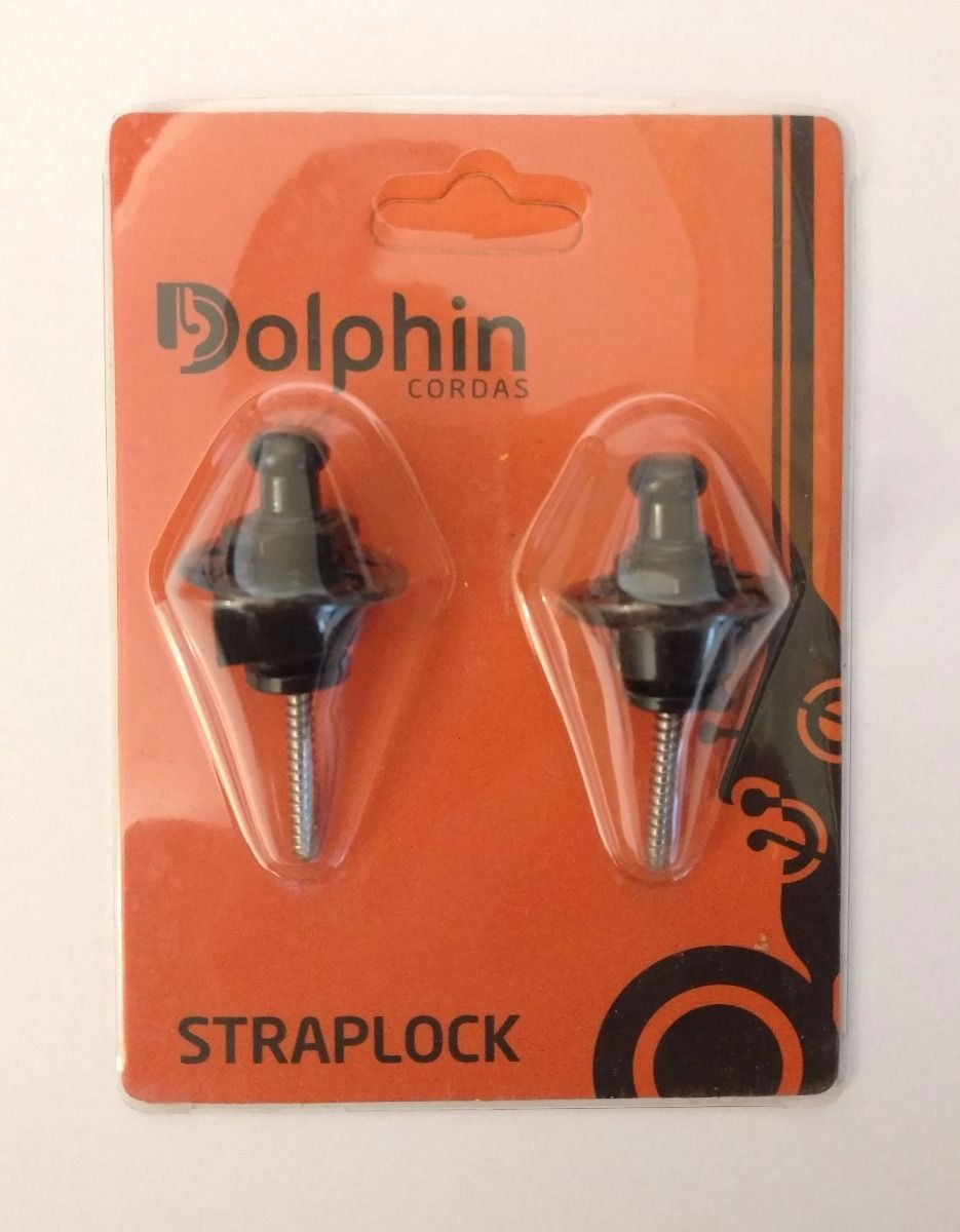 Strap Lock Style Dolphin Black