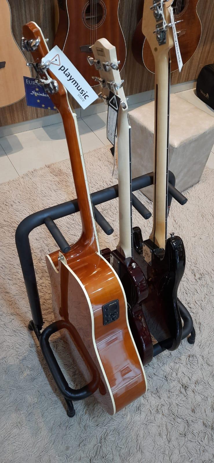 Suporte de chão SATY RC-03 para 3 instrumentos de Corda.