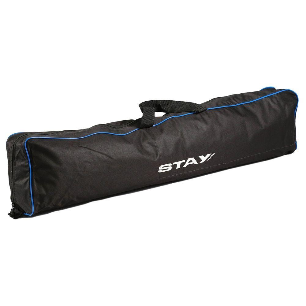 Suporte Para 2 Teclados Profissional Stay Slim 1100/02 Prata com Bag
