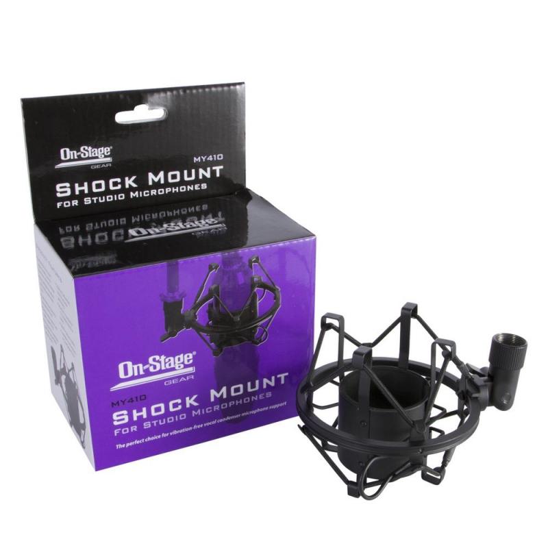 Suporte para microfone condensador Shock Mount