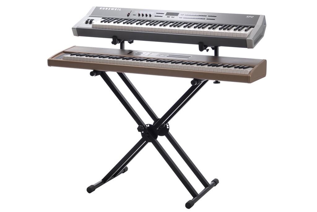 Suporte para Teclados 2 teclados ou piano BX2