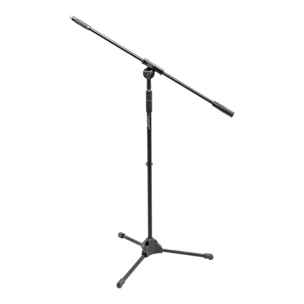 Suporte Pedestal Para Microfone Ibox Sm Full Metal Preto