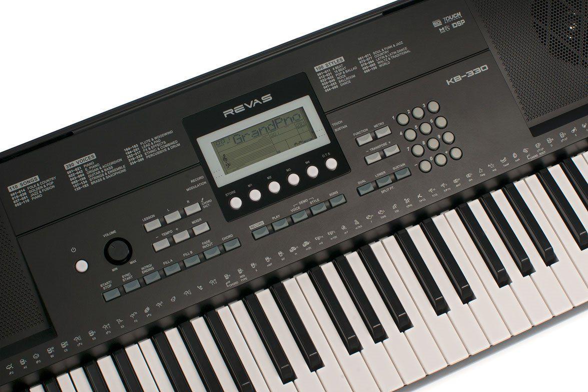 Teclado Arranjador 61 Teclas KB-330 Revas By Roland MIDI USB