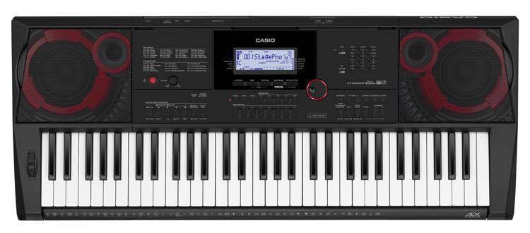 Teclado Arranjador Casio CTX-5000 61 Teclas