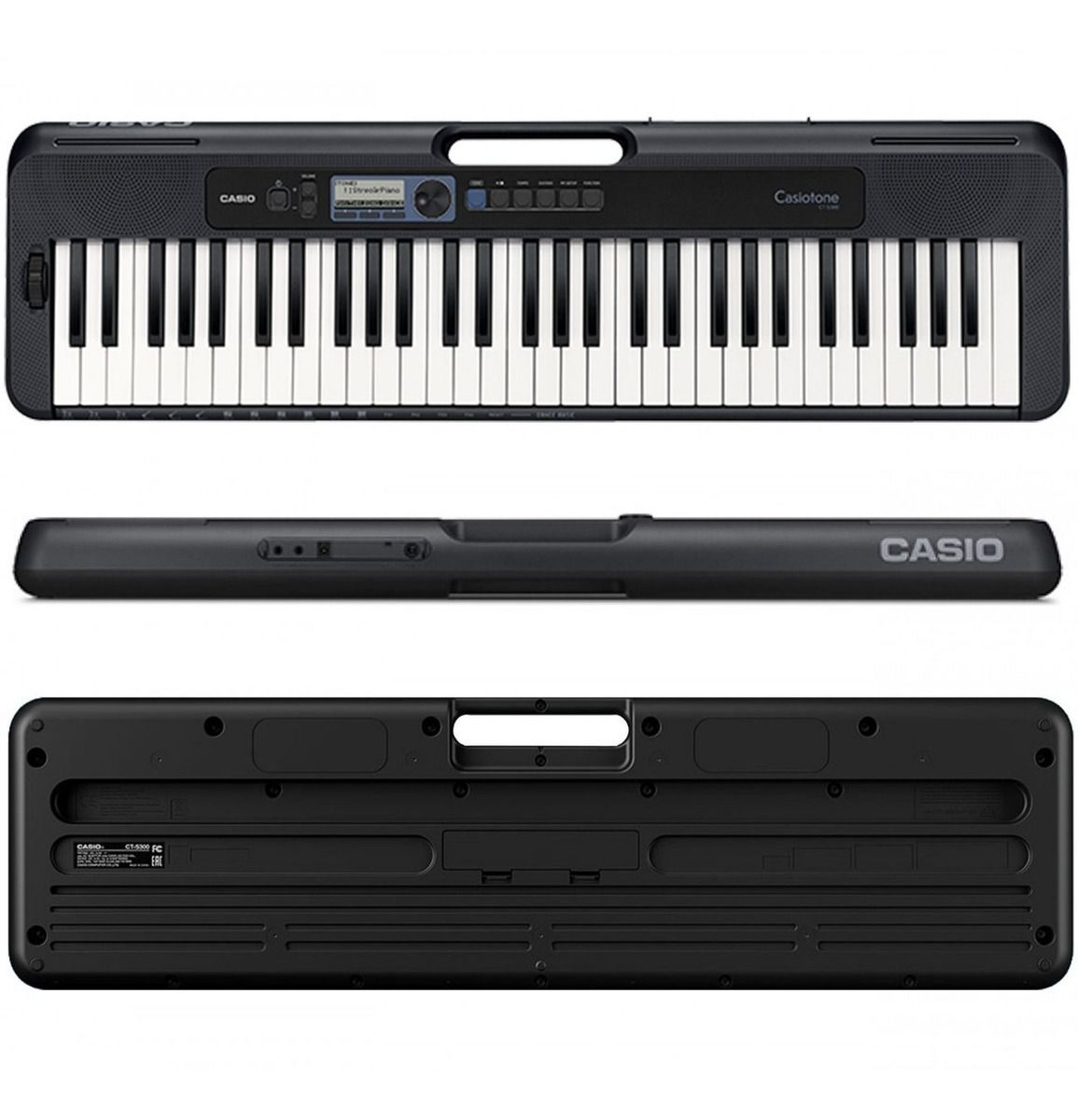 Teclado Arranjador Casiotone Casio Ct-S300 Black