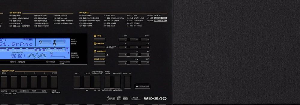 Teclado Casio WK240
