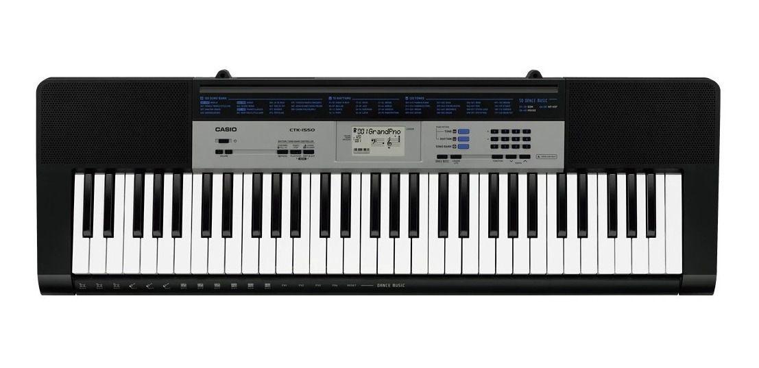 Teclado Musical Digital Casio CTK-1550 61 TECLAS