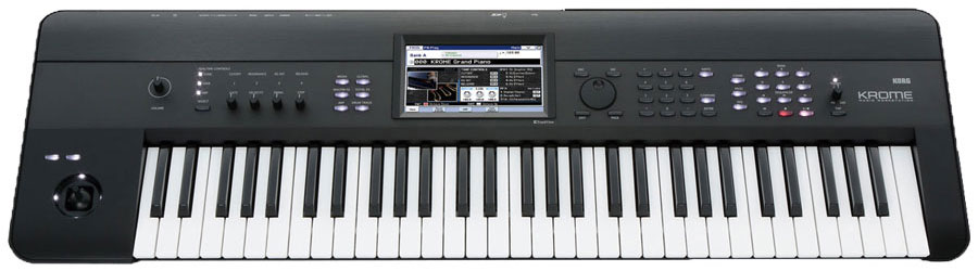 TECLADO WORKSTATION KORG KROME-61