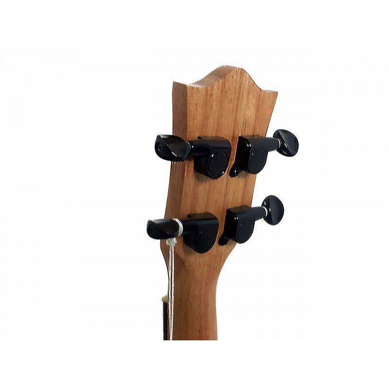 Ukulele Concerto Acústico Madeira Basswood Koa Tarrachas Blindadas com Bag UKP-241 PHX