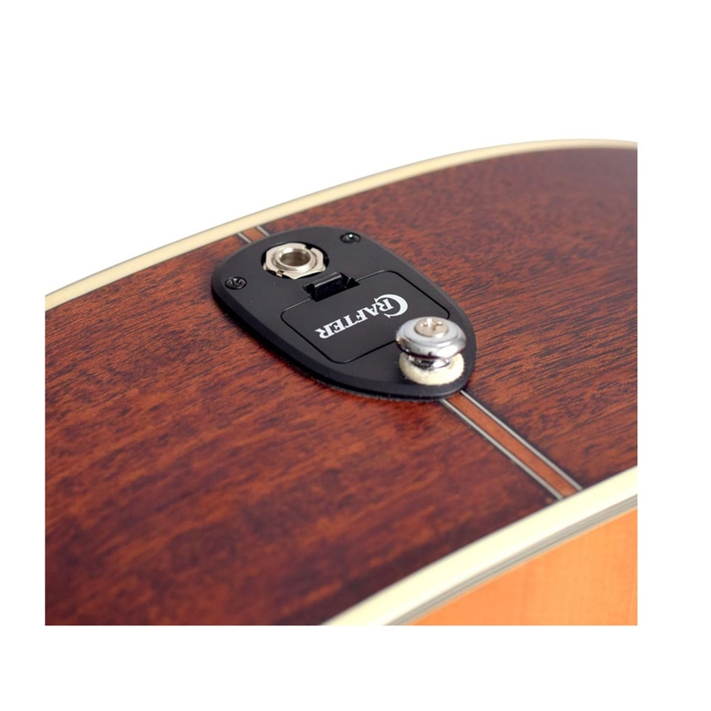 Violão Crafter Aço Folk Cutaway DE-7/N com Equalizador S1