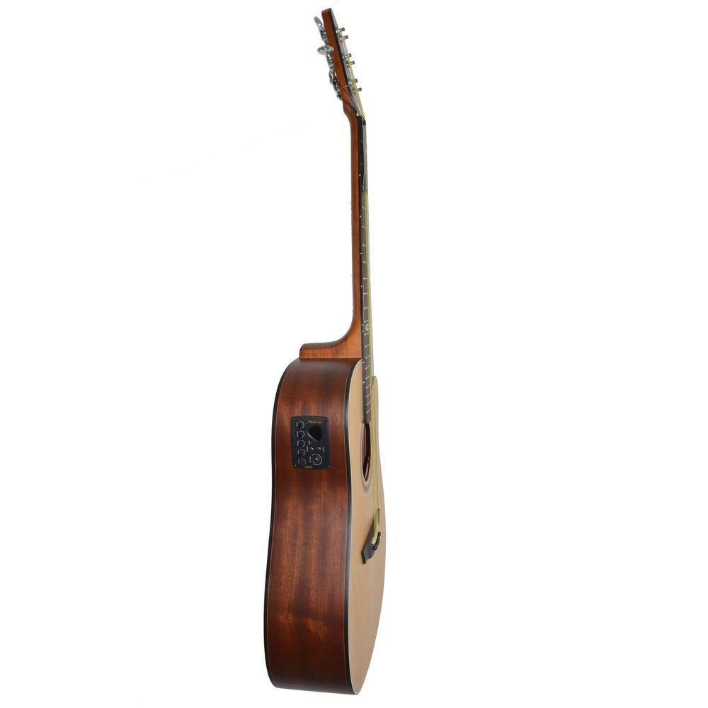 Violão Elétrico Folk Aço Sd200c Ns Fosco Strinberg