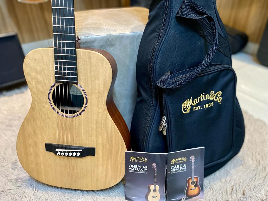 Violão Little Martin LX1E Eletroacústico com Bag