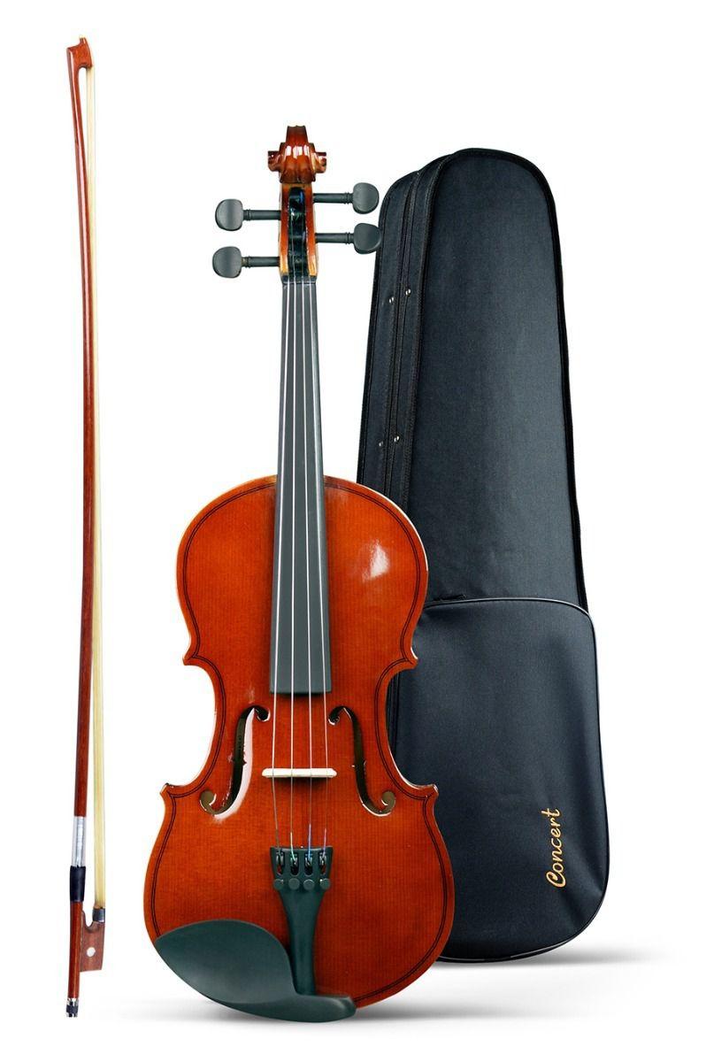 Violino Concert 3/4 Case+arco+breu Completo
