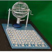 Bingo Cromado Pequeno Nº1 - Az de Ouro